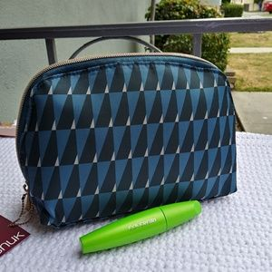 Sonia Kashuk Round-Top Blue Pouch